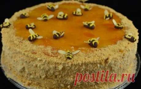 торт медовик со сгущенкой рецепт с фото