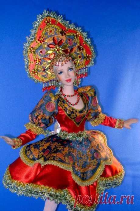 13 фантастических кукол от русской мастерицы