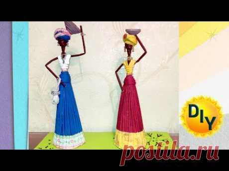 Африканки, куклы своими руками. DIY/рукоделие