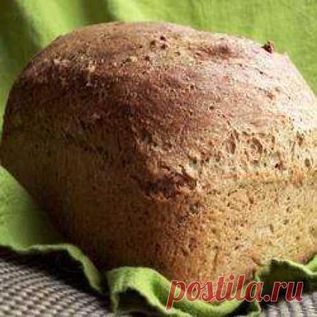 Цельнозерновой хлеб с ржаной мукой и ячневой крупой