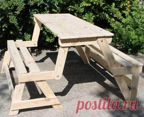 Как сделать скамейку из дерева своими руками   На многих загородных участках для удобного времяпровождения ставится скамейка. Сидя на ней можно с кем-то беседовать или просто нежиться на солнышке. Вместо скамьи довольно часто размещают стол и ст…