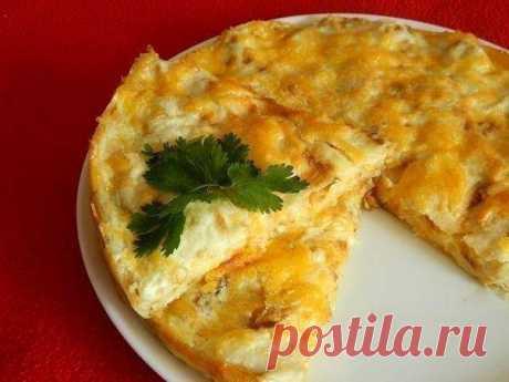 Пирог из лаваша с сыром / Свежие рецепты