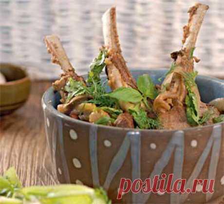 Баранина с овощами, второе блюдо. Пошаговый рецепт с фото на Gastronom.ru