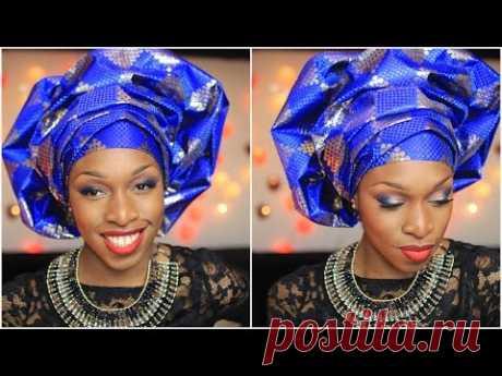 Attaché de foulard   Le gele yoruba   Princesse Pagaille