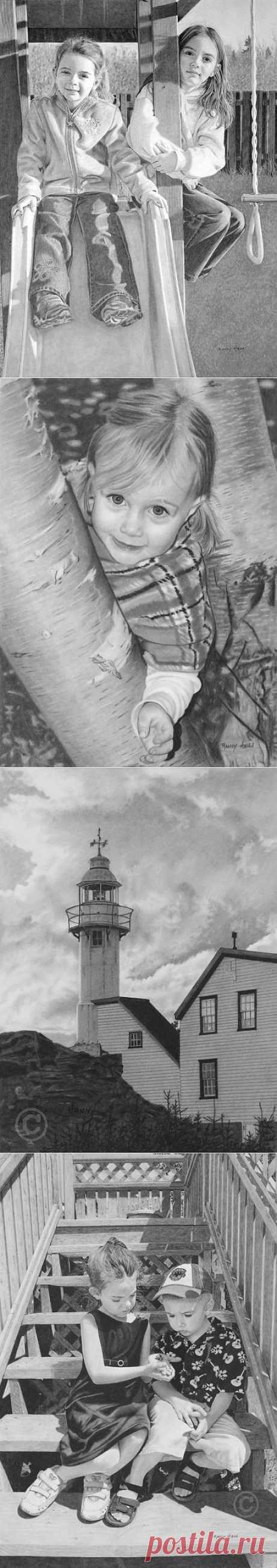 Рисунки карандашом Рэнди Хэнна (Randy Hann) | Fresher - Лучшее из Рунета за день