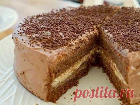Доступный и вкусный домашний тортик на День Рождения! В магазине такой не купишь!