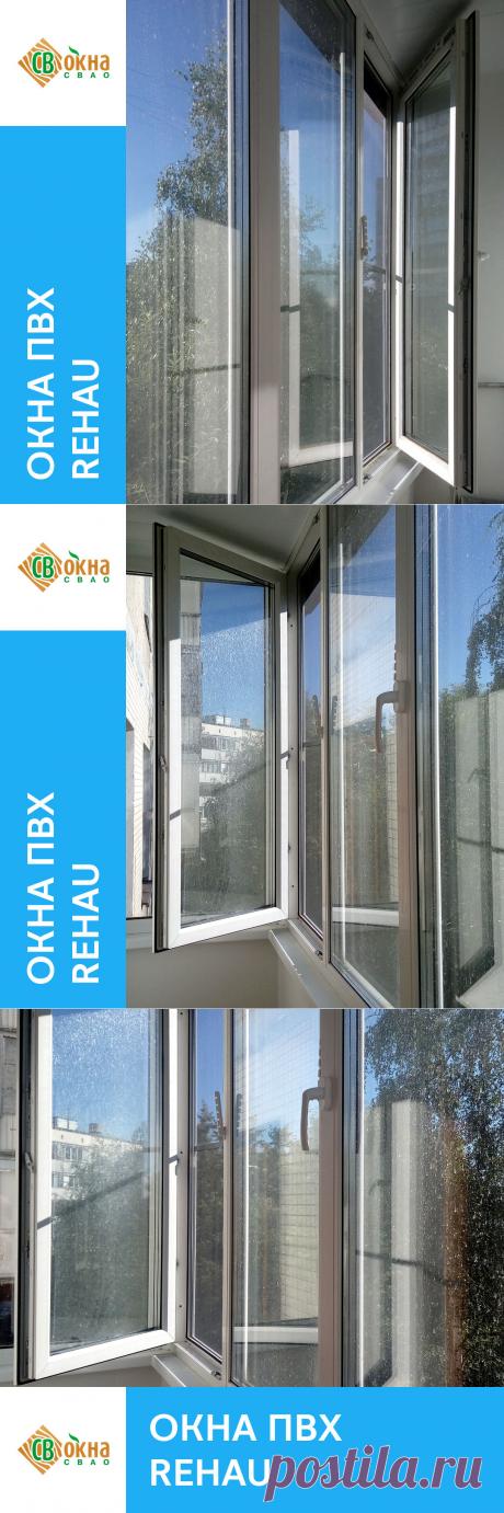 Теплое остекление лоджии пластиковыми окнами REHAU    Остекление выполнено из профиля REHAU GRAZIO толщиной 70 мм. В профиле 5 воздушных камер, что обеспечивает отличные показатели по теплоизозяции. Особенностью профиля является его уменьшенная ширина, что увеличивает поступление света в помещение.  В окнах установлены двухкамерные энергосберегающие стеклопакеты 40 мм, формулой 4-14-4-14-4И.  Использованная фурнитура - Roto NT.