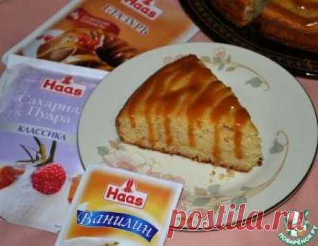 """Грушевый пирог """"Медовая карамель"""" – кулинарный рецепт"""