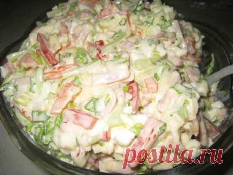 Вкусный салат «Берлинский»