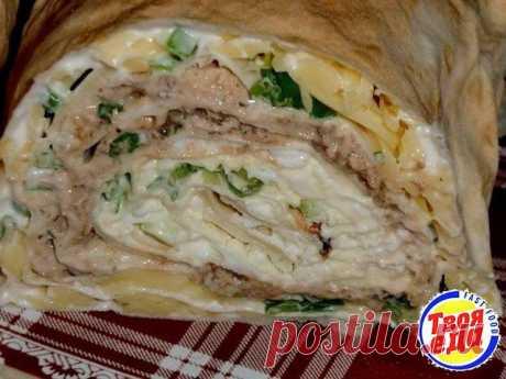 La cocina >Вкусный el panecillo la Mimosa.