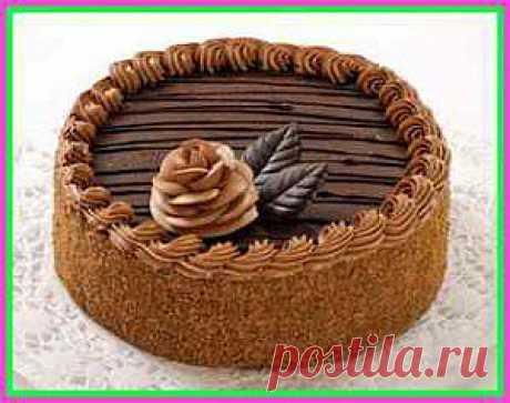 """Торт """"Пражский"""" Возьмите рецепты шоколадных, самых вкусных и проверенных временем тортов """"Пражский"""" и """"Прага"""""""