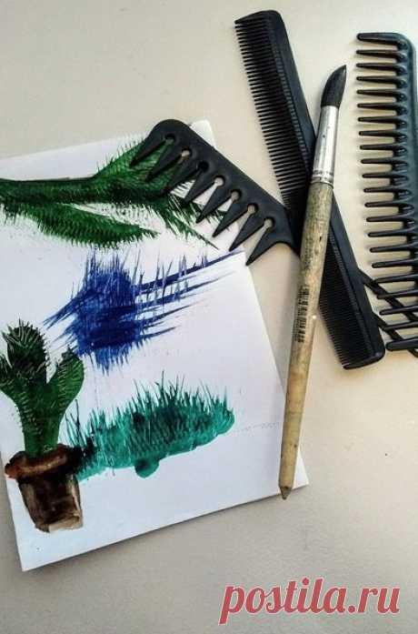 Рисующая расчёска | Непоседа | Яндекс Дзен