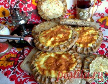 Ржаные шаньги с крупой и картофелем – кулинарный рецепт
