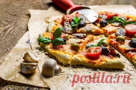 Диетическая пицца: низкокалорийные рецепты из теста и полезной начинкой