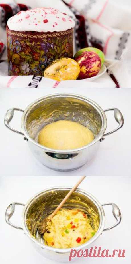 Любопытный повар - Заварной кулич на желтках