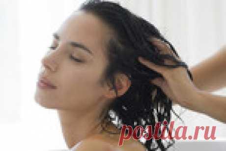 Соляные маски и массаж для укрепления волос
