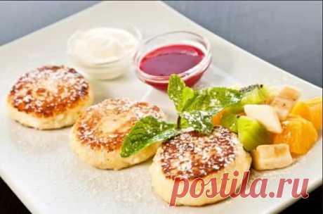Сырники из творога с манкой на сковороде: классический рецепт