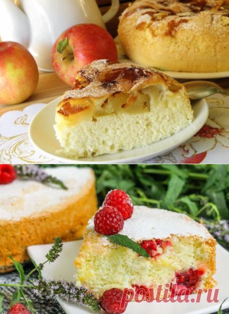 Такая разная шарлотка: яблочная, банановая, малиновая | Бюджетные и простые рецепты | Яндекс Дзен
