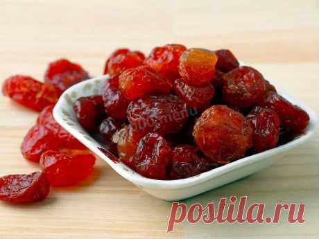 Цукаты из вишни в домашних условиях рецепт с фото - 1000.menu