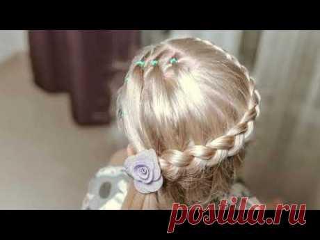 Прически с косичками /  Канал Прически для девочек