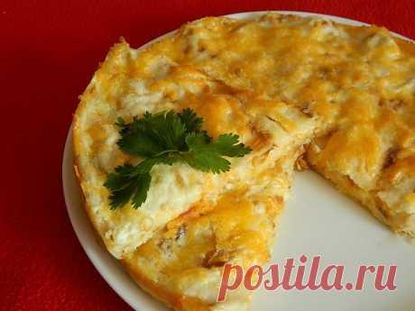 Элементарно просто и очень вкусно: пирог из лаваша с сыром.