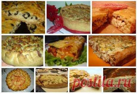 ТОР - 10 Вкусных домашних пирогов.