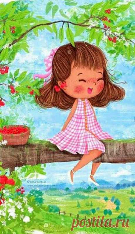 А у меня в душе уже весна! Сидит, смеется, ножками болтает. От счастья тихо сердце замирает. И верю я - немножко до тепла! Осталось лишь дождаться настоящей - Такой веселой и такой пьянящей! (с)