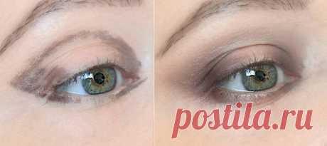 3 важных момента в макияже глаз от которых зависит, насколько молодо они будут выглядеть: запоминаем | О макияже СмиКорина | Яндекс Дзен