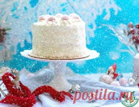 """Торт """"Малиновый рафаэлло"""" – кулинарный рецепт"""