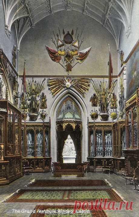 El castillo Vindzorsky — la residencia de los monarcas británicos. La parte 16.