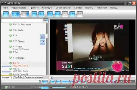 Скачайте ProgDVB 7.16.9, бесплатный проигрыватель и онлайн-ТВ на 4000 каналов