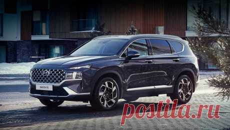 Кроссовер Hyundai Santa Fe 2021: фото, цена, комплектации, характеристики