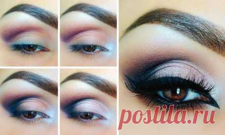 12 simple options of a stunning make-up \/ All for the woman