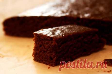 Нежный шоколадный кекс, постный - lenkazhestyanka — ЖЖ