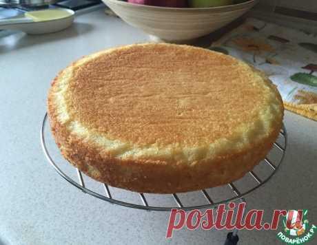 Генуэзский бисквит классический – кулинарный рецепт