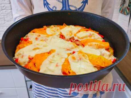 Летом пиццу не покупаем, готовим намного проще и быстрей из кабачков: вкусный и ароматный рецепт пиццы   Рекомендательная система Пульс Mail.ru