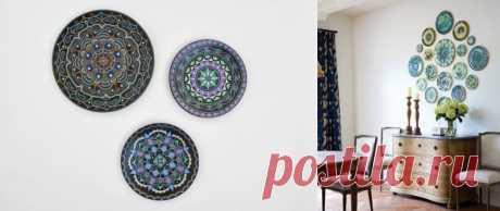Роспись тарелок своими руками – 5 мастер-классов и 65 фото