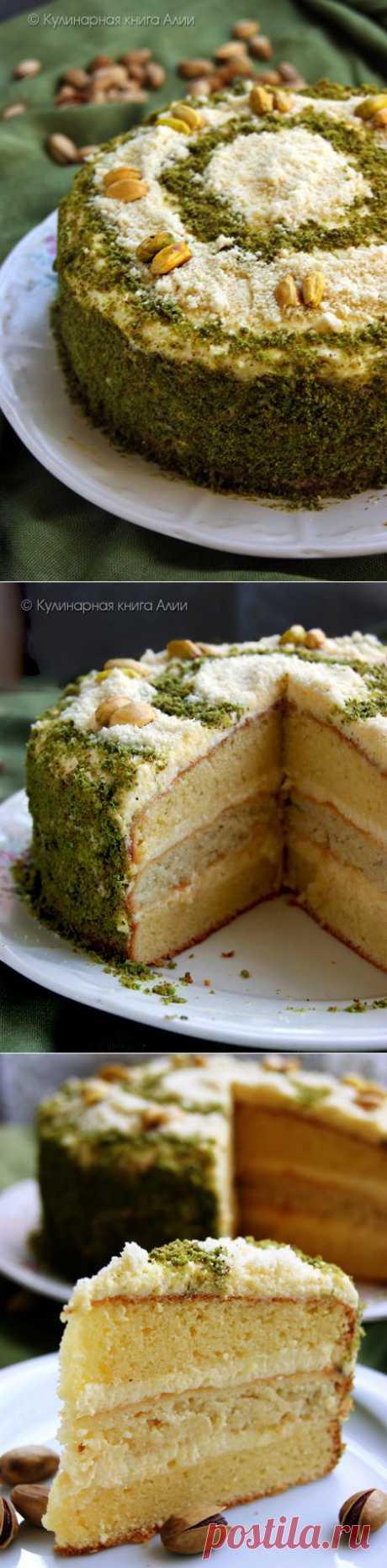 604. Миндальный торт