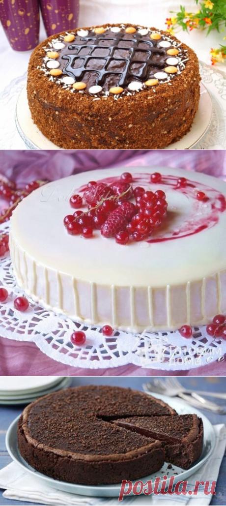 Подборка рецептов вкусных тортов.