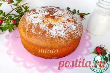 Итальянский пирог - высоченный, воздушный и нежный