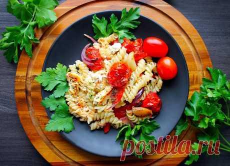 Макароны с овощами и сыром в духовке рецепт с фото пошагово - 1000.menu