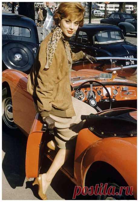 Marie Helene Arnaud   for LIFE Magazine 1957  Photo Loomis Dean