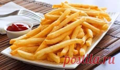 """Картофель """"Фри"""" из духовки …"""
