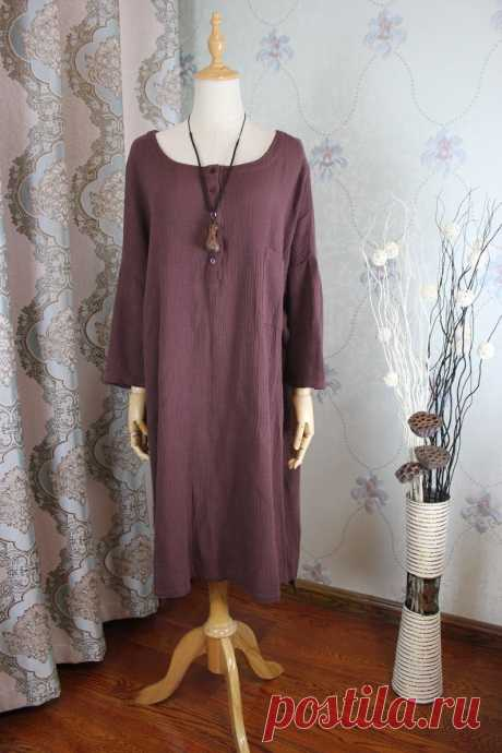 Women Loose dress large size gown asymmetrical dress   Etsy
