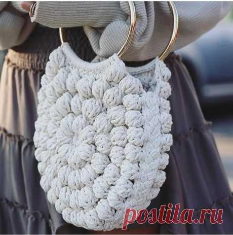 Вязаные сумки крючком - идеи💐💐💐   Делаем красоту ВМЕСТЕ 😍   Яндекс Дзен