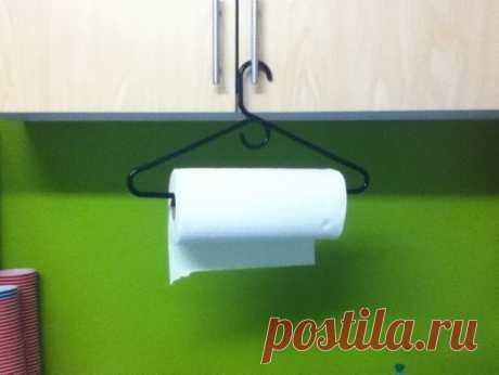 Если некуда повесить бумажные полотенца на кухне — Полезные советы