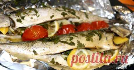 Скумбрия, запеченная в фольге с овощами: рецепты и особенности приготовления . Милая Я
