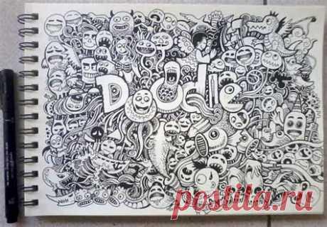 46+ Foto Gambar Doodle Keren Gratis Terbaru