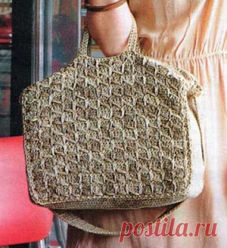 Вязание (Crochet and Knitting) от Иринушки-Сирень (Irina Lilac): Вязаные сумки со схемами