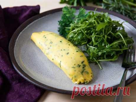 Классический французский омлет с зеленью рецепт с фото - 1000.menu